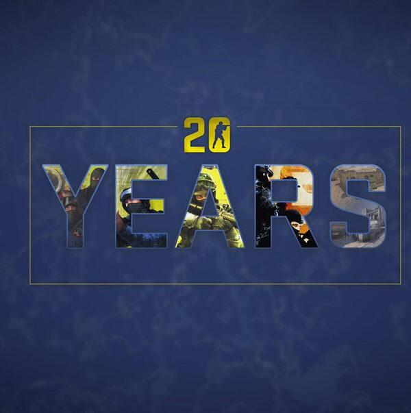 Двадцатилетие знаменитой серии Counter Strike
