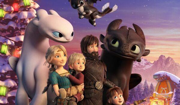 Вышел первый трейлер мультфильма «Как приручить дракона: Возвращение домой»